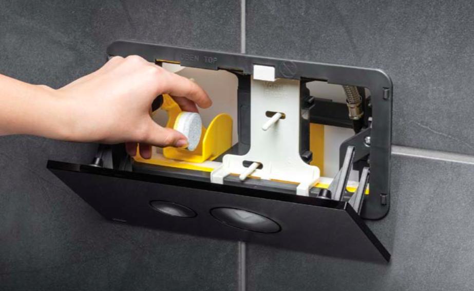 Hygienická sviežosť pri každom spláchnutí wc