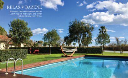 Relax v bazéne