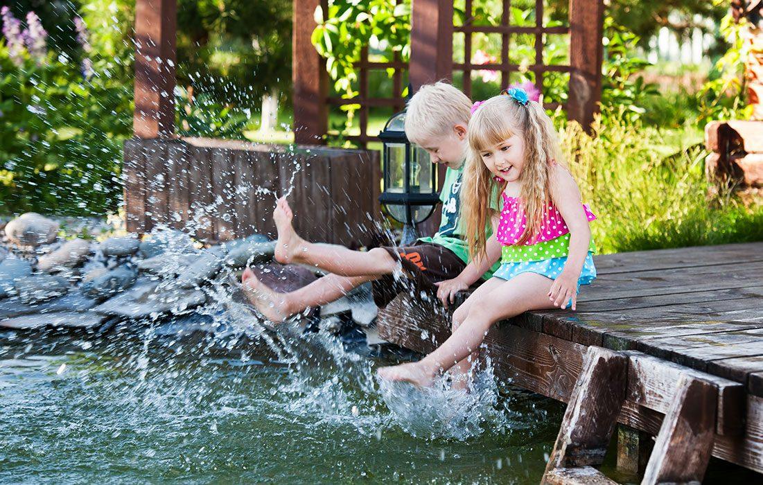 Voda pristane každej záhrade