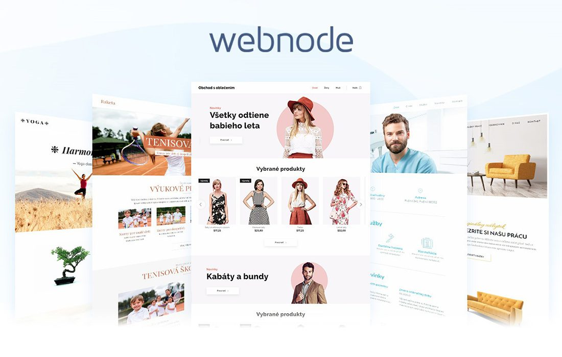 Webnode – webová adresa pre každého